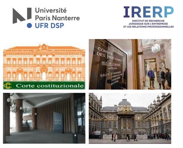 Tempête Judiciaire Sur Les Plateformes Numériques, Conférence D'actualité En Droit Du Travail Organisée Par L'IRERP, Le 13 Mars 2019