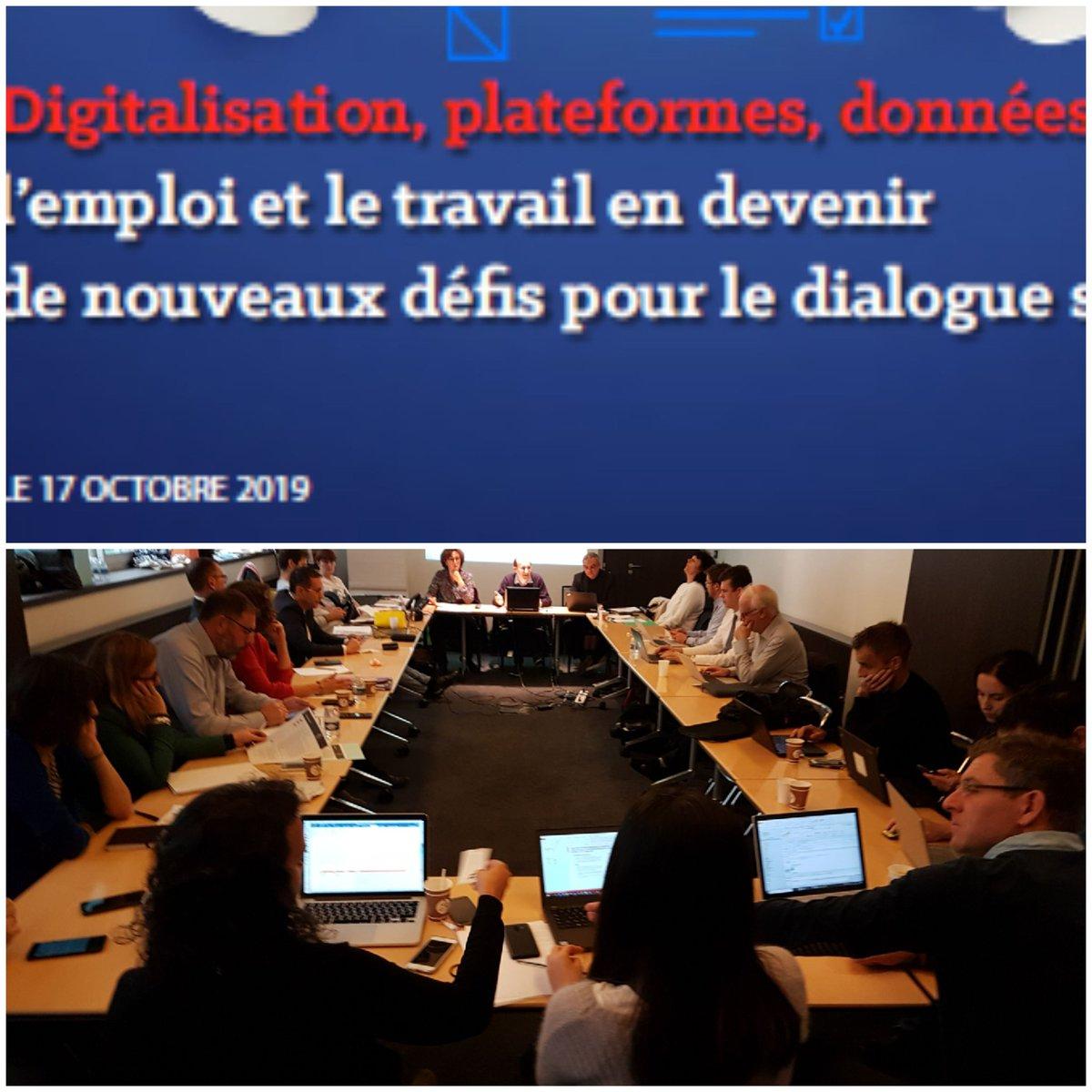 Digitalisation, Plateformes, Données : L'emploi Et Le Travail En Devenir, De Nouveaux Défis Pour Le Dialogue Social ? – INTEFP – 17 Octobre