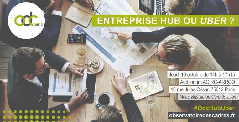 Entreprise Hub Ou Uber ? Observatoire Des Cadres Et Du Management, 10 Octobre